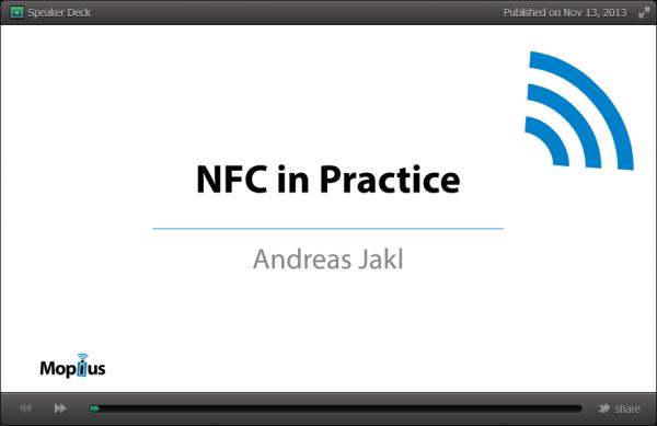 NFC in Practice