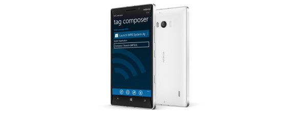 NFC interactor 7.1 on the Lumia 930