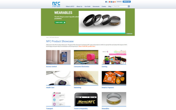 NFC Forum Product Showcase